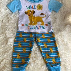 "The Lion King's Simba ""Wake up Awesome!"" PJ Set"